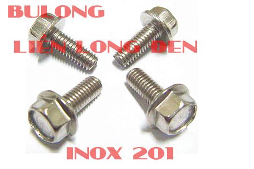 BULONG LIỀN LONG ĐEN INOX 201 BU LÔNG ỐC VÍT INOX BULONG INOX 304